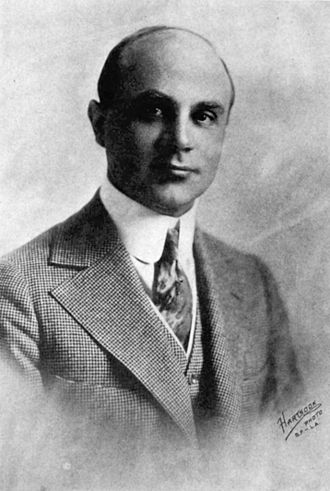 Oscar Apfel - Photo of Apfel from The First One Hundred Noted Men and Women of the Screen (1920)