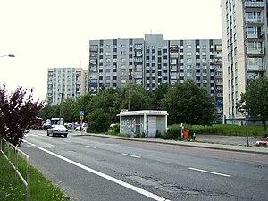 Piotrowice-Ochojec - Targowisko housing estate
