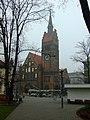 Ostrava, Husovo náměstí, kostel.JPG