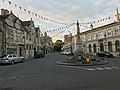 Oundle, New Street including the War Memorial and The Talbot Hotel.jpg