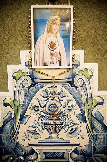 English: Our Lady of Fatima.
