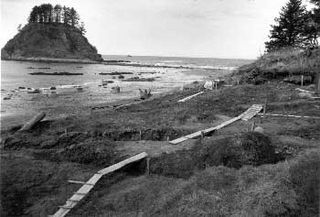 Ozette Indian Village Archeological Site United States historic place