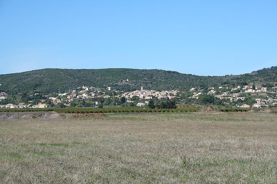 Péret (Hérault) - vue générale.