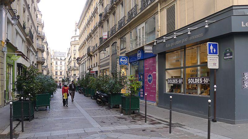 Fichier:P1160341 Paris I-II rue Française rwk.jpg