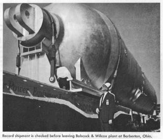 Babcock & Wilcox - Image: PCPOST Babcock Wilcox Vessel
