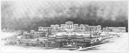 PSM V75 D104 Plan of the university of pittsburgh.png