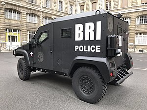 Research and Intervention Brigade - BRI-PP PVP armored truck