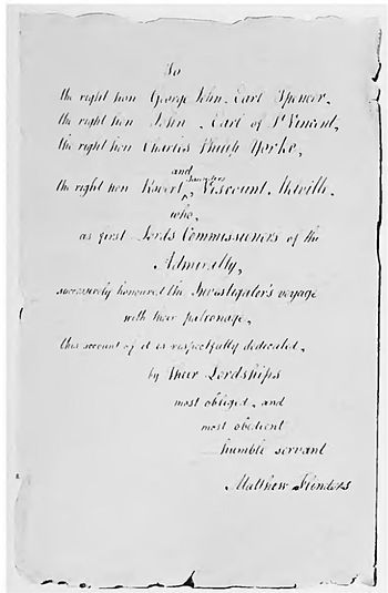 Page 502 letter (The Life of Matthew Flinders).jpg