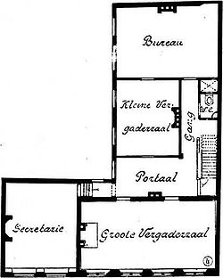 Pagehuis Den Haag 1st floor plan after restoration.jpg