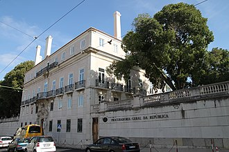 Judiciary of Portugal - Palmela Palace, seat of the Portuguese Attorney-General's Office.