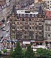 Palace Hotel Princes Street Edinburgh seen from Castle 1987.jpg