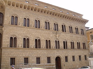 building in Siena, Italy