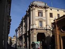 Palazzo del Governo at Chieti, the provincial seat.