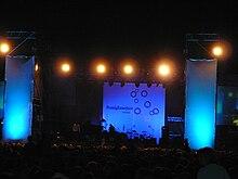 Il palco del Pomigliano Jazz Festival.