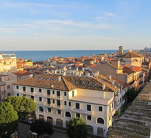 Porto Recanati - Skyline from castle tower