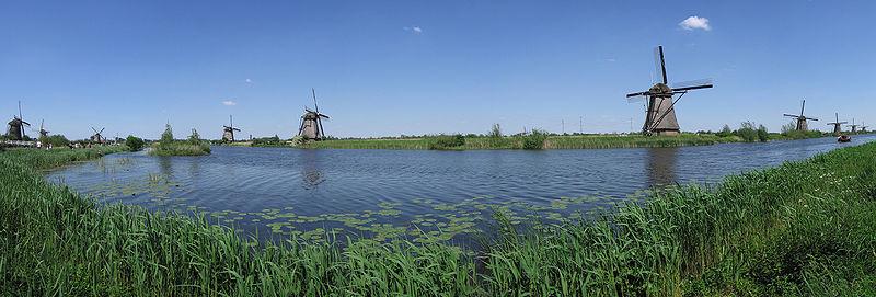 Fichier:Panorama -Kinderdijk 1.jpg