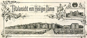 Heiligendamm - Panorama of Heiligendamm, 1887