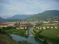 Panorama of Rovereto