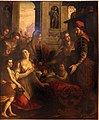 Paolo camillo landriani detto il duchino, sant'ambrogio e il miracolo delle api, 1610-20 circa, dal palazzo dei giureconsulti a milano 01.JPG