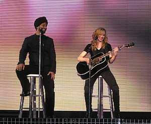 "Confessions on a Dance Floor - Singer Yitzhak Sinwani (left) lent his vocals on the song ""Isaac"". He also joined Madonna during some performances on the Confessions Tour."