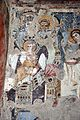 Parete palinsesto con madonna in trono con angelo (500-550 ca.), annunciazione (590 ca.), basilio e giovanni crisost. (post 649) e gregorio nazianz. e basilio (705-707) 02.jpg