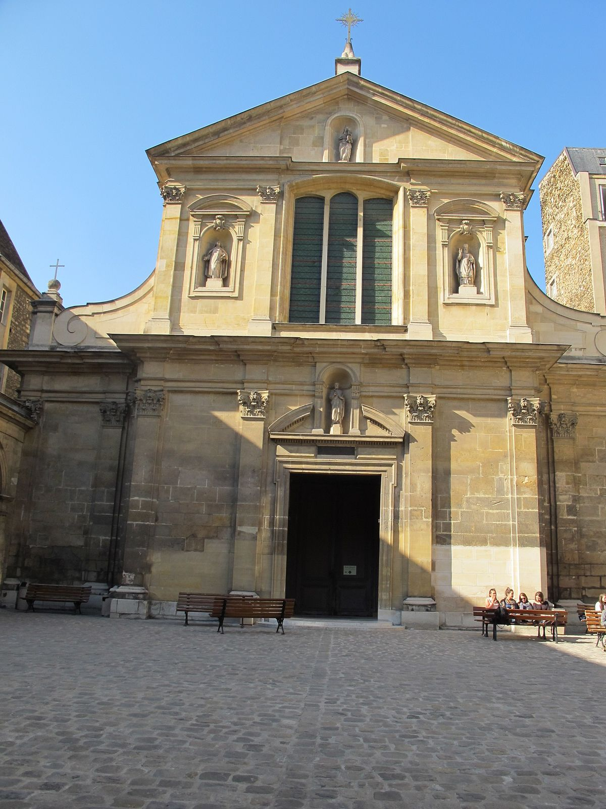 Église saint joseph des carmes wikipedia