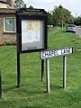Parish Council Notice Board, Tattershall Thorpe - geograph.org.uk - 556100.jpg