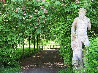 Peter Joseph Lenné - Statuary in Park of Blankensee Palace, in Trebbin