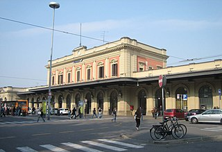railway station in Italy