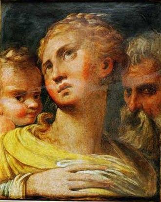 Galleria Spada - Image: Parmigianino, tre teste