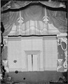 Part of stage, Ford 's Theater. Lincoln's box to right of stage. - NARA - 530545.tif