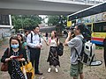 Passenger interviewed by TVB Journalist in Aberdeen Bus Terminus after Typhoon Mangkhut.jpg