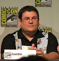 Paul Dini, co-creatore del personaggio insieme a Bruce Timm