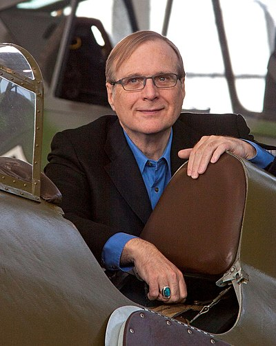 Paul Allen, American inventor, investor and philanthropist