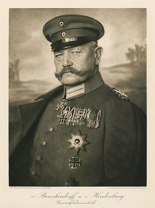 Paul von Hindenburg (1914) von Nicola Perscheid