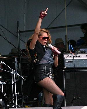 Paulina Rubio - Paulina Rubio at a jazz festival in Congo in 2012