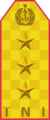 Indonesian Navy shoulder board (command)