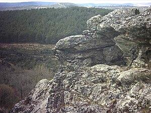 Aliste (comarca) - Peña Furada in Sierra de la Culebra near Gallegos del Campo.