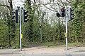 Pedestrian crossing, Arrowe Brooke Road.jpg
