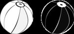 Ilustración en línea y en mancha donde se aprecian las formas
