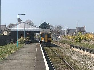 Pembroke Dock railway station - April 2018