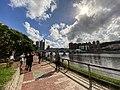 People watching Solar eclipse in Shing Mun River 20200621.jpg