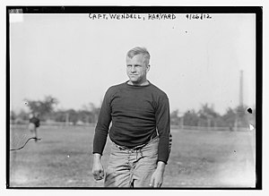 Percy Langdon Wendell - Wendell at Harvard in 1912