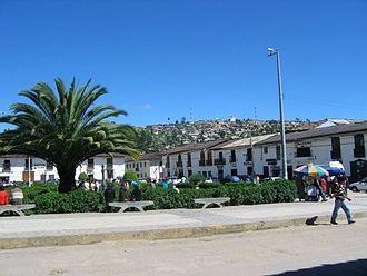 Chachapoyas, Peru - Buildings in Chachapoyas