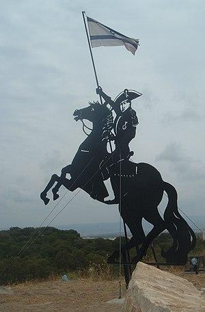 English: statue of Napoleon on Napoleon's hill...