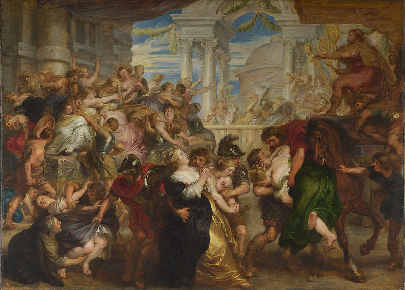 File:Peter Paul Rubens - The Rape of the Sabine Women - WGA20310.jpg