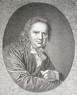 Peter Frederik Suhm - Portrait of Peter Frederik Suhm
