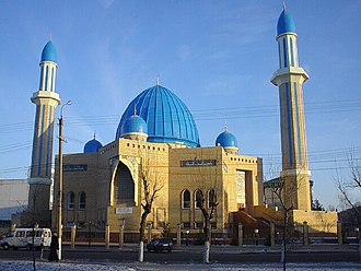 Central Asia - Mosque in Petropavlovsk, Kazakhstan