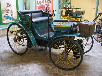 Auguste Doriot - Peugeot Type 3. Model that Doriot and Rigoulot drove in the 1891 Paris–Brest–Paris bicycle race.