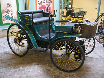 Peugeot Type 3 built in France in 1891 Peugeot Type 3.jpg